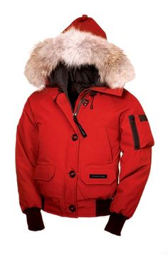 2013 Canada Goose Chilliwack Bomber Women Red