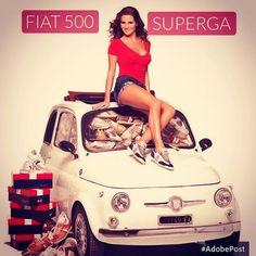 Superga & Fiat 500 #fiat500 #cinquecento #fiat500nelmondo #superga