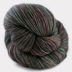 Madelinetosh Sock in Cosmos skein) Madeline Tosh, Sock Yarn, Cosmos, Lana, Weaving, Socks, Stitch, Wool, Night