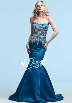 MacDuggal Dresses82121Y Dress at Peaches Boutique