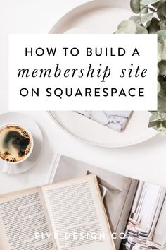 A step-by-step guide to create membership-protected pages or content (free or paid) on your Squarespace website. Business Design, Creative Business, Business Tips, Business Branding, Business Website, Online Business, Blogging, Web Design Tips, Pinterest Marketing
