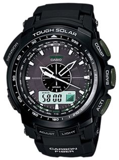 Casio Men,s Protrek Triple Sensor Tough Solar Alarms World Time LIMITED EDITION Watches PRG510-1 | Price:	$399.99 | Click on the image for details.