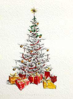 Christmas Card Tree 2
