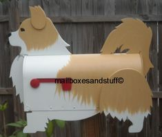 Custom painted Chihuahua Mailbox, Gifts for Chihuahua lover's
