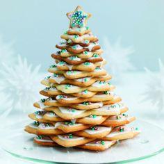 Biscotti per decorare l'albero di Natale - Albero di Natale di biscotti