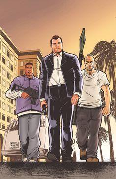 Franklin, Michael and Trevor Fan art Game Gta V, Gta 5 Games, Ps4 Games, Xbox One, Gta 5 Xbox, Grand Theft Auto Games, Grand Theft Auto Series, Playstation, San Andreas