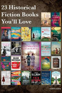 If you're looking for an engrossing read to fill your days, check out this round up of historical fiction books worth reading. Includes lots of book club book options! #books #historicalfiction #readinglist Reading Lists, Book Lists, Book Club Books, Books To Read, Historical Fiction Novels, Book Flowers, Types Of Books, My Tea, Girls In Love