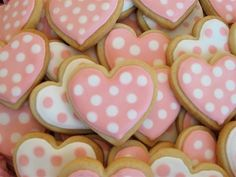 polky-dot cookies!