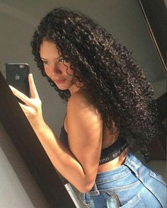 full lace wigs,curly full lace wigs,swiss lace cap construction,cheap full lace wigs,full wigs for white women are available. Cute Curly Hairstyles, Curly Hair Styles, Natural Hair Styles, Curly Full Lace Wig, Long Curly Hair, Foto Instagram, Aesthetic Hair, Grunge Hair, Natural Curls