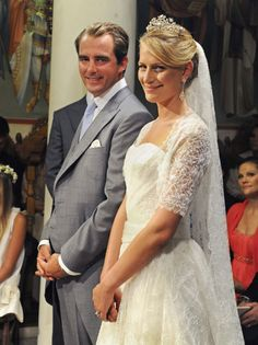 Wedding of Prince Nikolaos of Greece and ms Tatiana Blatnik on the greek island Spetses on August 25, 2010