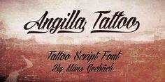 Angilla Tattoo | dafont.com