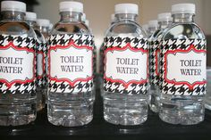 """""""toilet water"""" lol , good idea for April Fool's Day! I think I will give it to my students!"""
