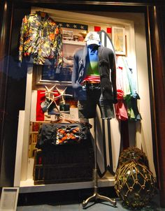 "RALPH LAUREN,Paris,France, ""Get ready to sail the seas...."", photo by MesVitrines, pinned by Ton van der Veer"