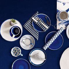 Arts de la table : le grand bleu