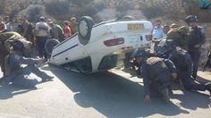 Ataque terrorista em Samaria deixa dois israelenses gravemente feridos.