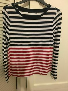 Marks & Spencer Ladies/womens Long sleeved Striped M&S Top Size 10 in Clothing, Shoes & Accessories, Women's Clothing, Tops Long Sleeve Tops, Long Sleeve Shirts, Spencer, Casual Tops For Women, Cut Shirts, Long Sleeve Bodysuit, Cardigans For Women, Lady, Free Delivery