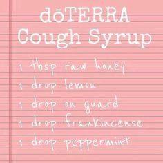 doTerra Cough Syrup