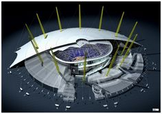 The Arena London seating plan Birds eye aerial cutaway view Dome Structure, Building Structure, Theater Plan, Arena Stage, Amazing Buildings, Concert Hall, Concert Venues, Months In A Year, Nice View