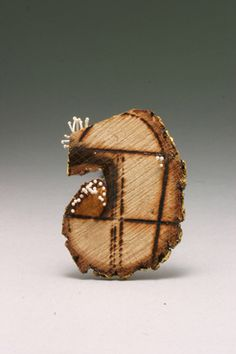 Lines of a City brooch by Kate Furman