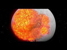 L'évolution de la Lune par @LaBoiteVerte