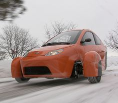 It's Priced at $6800, Gets 84MPG, Has 3 Wheels and is Being Made by Elio Motors