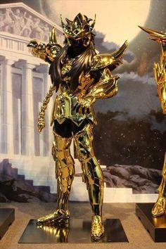 Escorpião armaduras de ouro em tamanho real cavaleiros do zodíaco