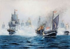 Arup Jensen. The Battle of Copenhagen April 2nd 1801
