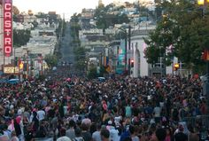 Celebrate #PRIDE in #SF in the #Castro. Not to be missed - #somuchfun.