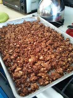 Paleo pumpkin crunch granola! I'll make it with sweet potato instead.