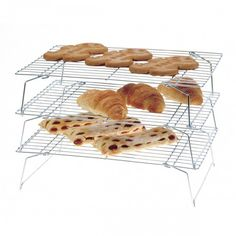Save counter space with the 3 Tier Cooling Rack, available at the Food Network Store.