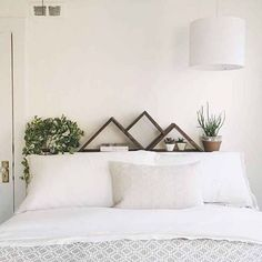 Loving this serene and plant-filled bedroom of @convivialproduction that was just posted on @clementinedaily #gathergoodsinspiration