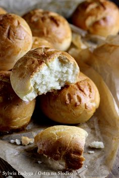 MLECZNE BUŁECZKI - BEZGLUTENOWE! Gluten Free Recipes, Healthy Recipes, Pretzel Bites, Bakery, Food And Drink, Bread, Cooking, Interior, Kitchen