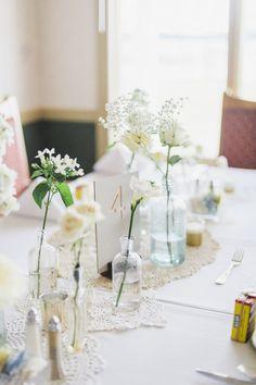 Summer wedding tablescape {Photo by Krista A. Jones Photography via Project Wedding}