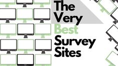 The Best Survey Sites In the World - Green In Black and White Best Online Survey Sites, Online Surveys For Money, Make Money Online, Home Based Jobs, Work From Home Jobs, Useful Life Hacks, Start Up Business, Money Tips, Way To Make Money
