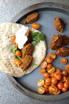 Pumpkin Falafel adapted from Alice Hart's Vegetarian on Milk and Honey