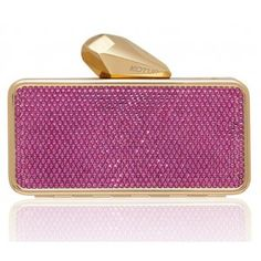 #Getsmartbag Minaudiere for your iphone | Pink - Fuschsia Swarovski Crystals | Exclusive online edition for www.koturltd.com | #KOTUR #Swarovski #Pink