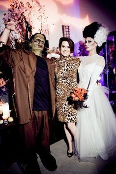 THE MONSTER MASH – Nick Lachey  his lovely wife, Vanessa Minnillo, were SPOOKED to see the fun I conjured for their celebrity Halloween bash! #party #celebrity #halloween #nicklachey #vanessaminnillo #thepartygoddess