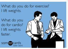 Exercise. Cardio. http://paleoaholic.com/