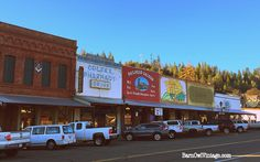 The historic downtown of Colfax, California. Stop by on your way to Tahoe up 80!