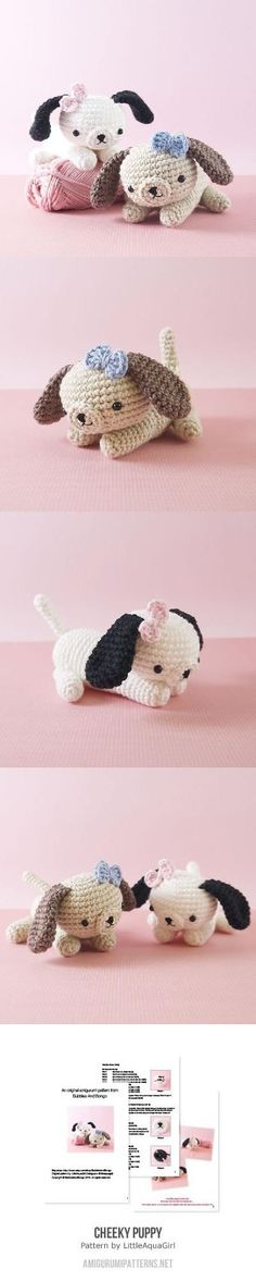 Cheeky Little Puppy Dog Amigurumi Pattern