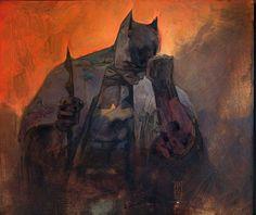 Batman by Alex Maleev, in naqam washington's naqam Comic Art Gallery Room Batman Love, Batman Beyond, Batman Stuff, Dc Comics Art, Marvel Dc Comics, Batman Detective Comics, Batman Universe, Dc Universe, Batman The Dark Knight