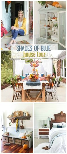 Shades of Blue House Tour