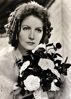 """Greta Garbo """"Camille""""1936 by Clarence Sinclair Bull 