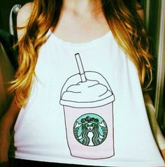Loving this Starbucks shirt.