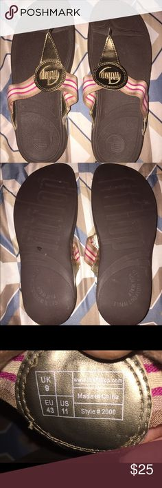 Fitflop Walkstar Women's Toning Sandal This is for a pair of Fitflop Walkstar toning sandal.    Size: 11.    Pre-owned, only worn once.     Style #2000 Fitflop Shoes Sandals