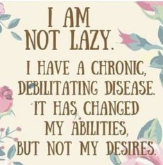 A chronic fatigue syndrome diet is hard to select as every person is different. When you suffer from chronic fatigue system, your body is already taxed. Rheumatische Arthritis, Psoriatic Arthritis, Rheumatoid Arthritis Quotes, Juvenile Arthritis, Ulcerative Colitis, Mantra, Chronic Illness Quotes, Chronic Migraines, Endometriosis