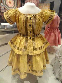 Boy's day dress, Ontario, Canada, 1862.