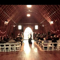 February 25, 2012 wedding at Dairy Barn in Fort Mill, SC (great wedding venue)