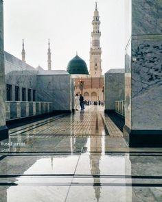 Say nahi hai gumbad e Khizra ka aaj bhi💚 Al Masjid An Nabawi, Mecca Masjid, Masjid Al Haram, Islamic Images, Islamic Pictures, Islamic Art, Islamic Videos, Mecca Wallpaper, Islamic Wallpaper
