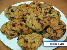 Recetas Caseras Fáciles MG: Cookies de Chocolate Cookies Receta, Chocolate Chip Cookies, Muffins, Bakery, Yummy Food, Sweets, Breakfast, Desserts, Food Ideas